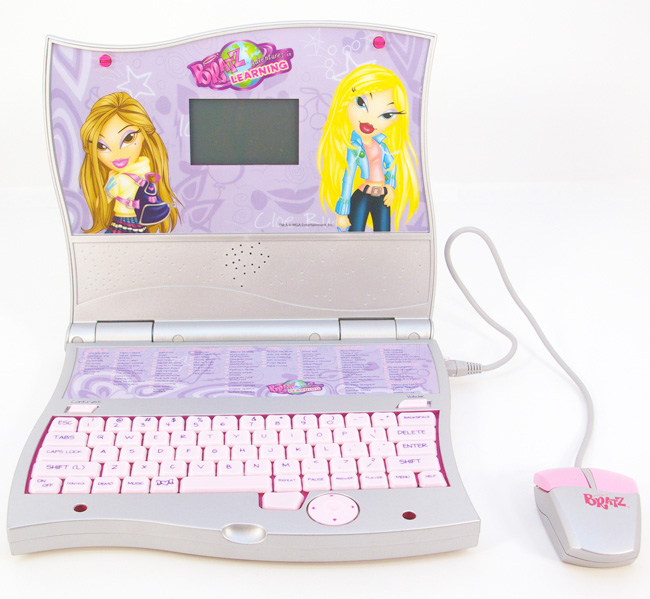 Computer Learning Toys : ★bratz doll educational laptop computer learning pink