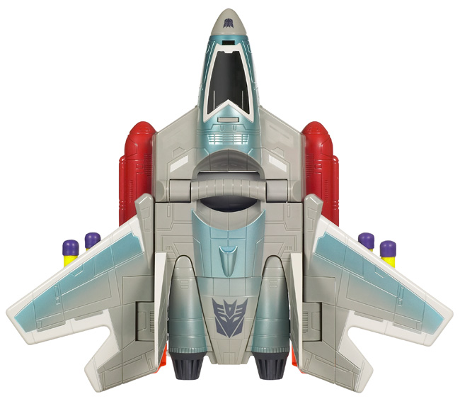 With the Transformers Starscream Barrel Roll Blaster, it feels good to