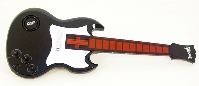 The Power Tour Electric Guitar can teach basic guitar lessons. View
