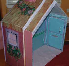 The cottageu0027s two rooms nest for easy storage. View Larger. & tent stoves: Hasbro Playskool Dream Town Rose Petal Cottage by Hasbro