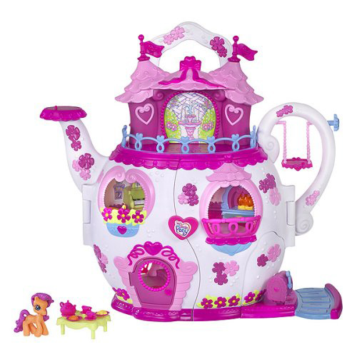 Amazon.com: My Little Pony Ponyville Teapot Palace Playset
