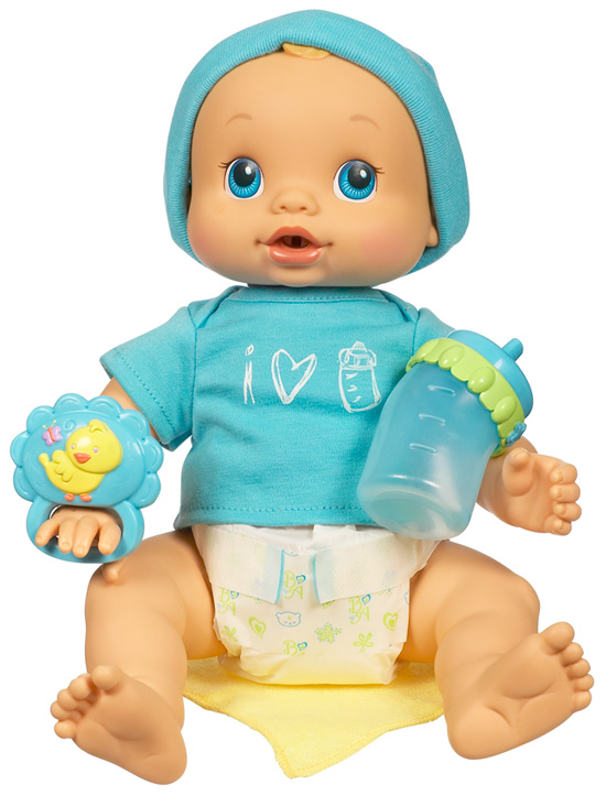 Boy Toys Description : Amazon hasbro baby alive wets wiggles boy doll