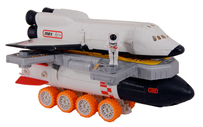 Review Toys and Games: Matchbox Mega Rig Space Shuttle