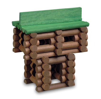 Amazon.com: Knex Bicentennial Edition Lincoln Logs: Toys & Games