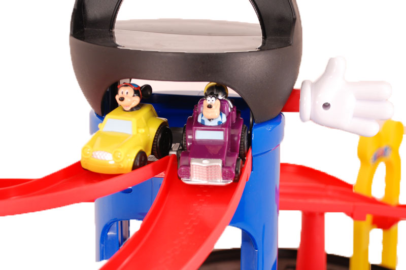Hand Controls For Cars >> Amazon.com: Fisher-Price Mickey Motors Raceway: Toys & Games