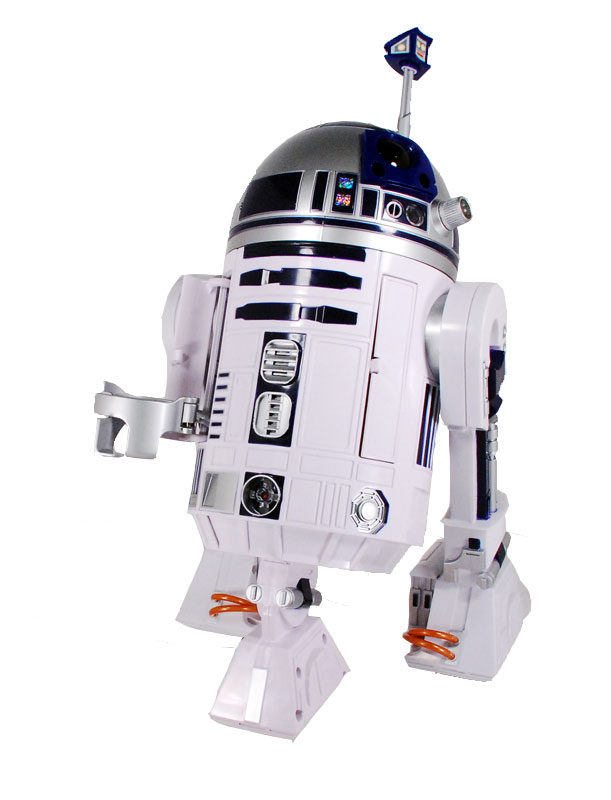Star Wars R2d2 Droid. R2-D2 can respond to commands.