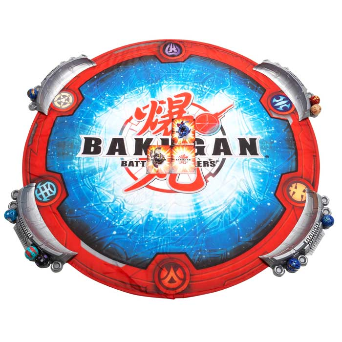 This deluxe Bakugan arena will make your Bakugan battles more exciting