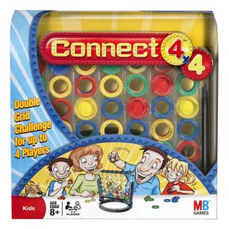 Thumbnail: Connect 4 x 4 Game.
