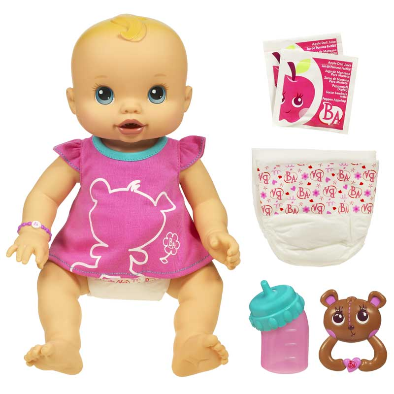 Amazon.com: Baby Alive Whoopsie Doo Doll - CAUCASIAN: Toys & Games