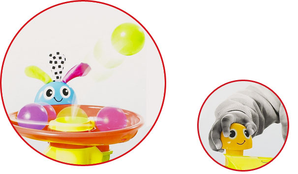 Best Ball Popper Toys For Kids : Playskool explore and grow busy ball popper
