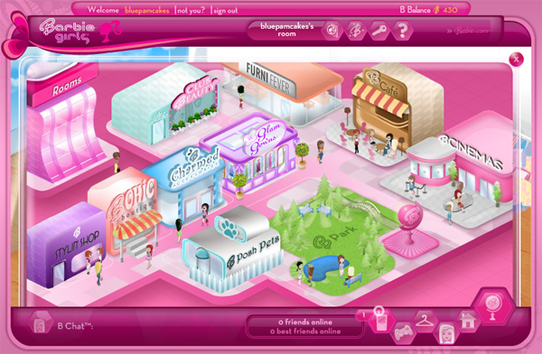 barbie girl games
