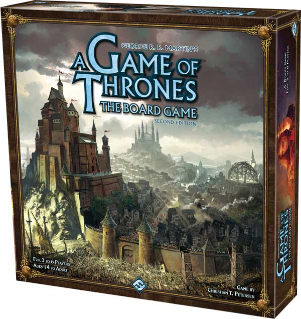 A Game Of Thrones The Board Game Second Edition Product Shot