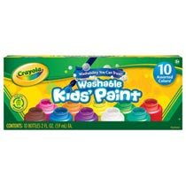 Crayola Kids Paint Set (10 Bottles)