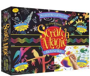Melissa and Doug Scratch Magic Deluxe Kit