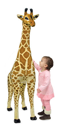 Melissa and Doug Giraffe Giant Stuffed Animal