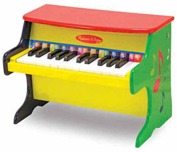 Melissa & Doug Learn-to-Play Piano Product Shot