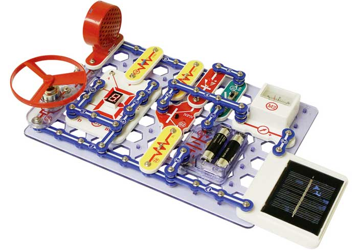 Snap Circuits Extreme SC-750 Electronics Discovery Kit: Toys & Games