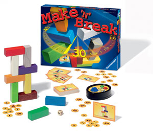Ravensburger Make 'N' Break--Family Game