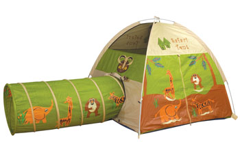 Pacific Play Tents Jungle Safari Tent and Tunnel