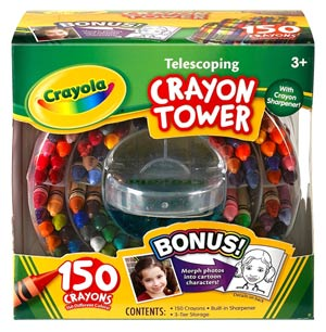 Crayola Telescoping Crayon Tower