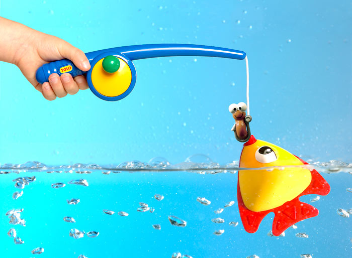 Toys For Fish : Tolo toys funtime fishing floating fish new free
