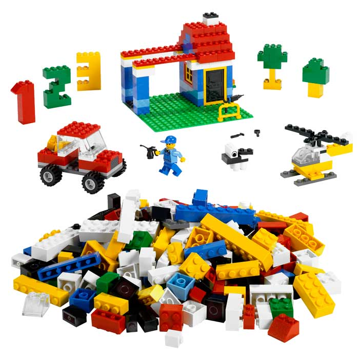 With 405 pieces, this Legos starter kit allows your child to build a