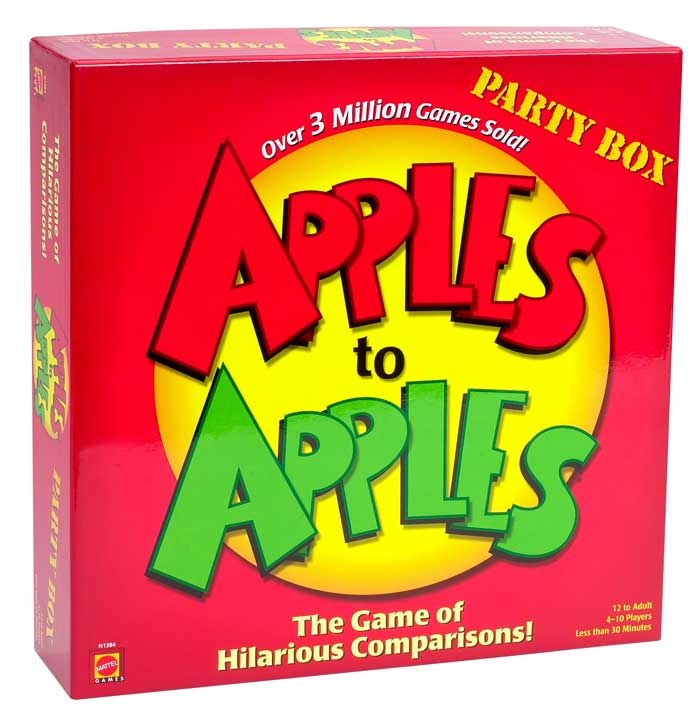 has many apples to apples game for adults problem loading this