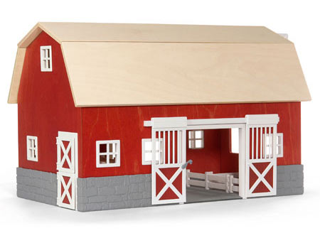 Wooden Toy Barns