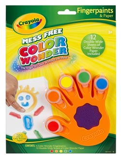 Crayola Color Wonder Fingerpaint
