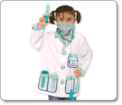Melissa & Doug Doctor Role Play Costume Set Product Shot