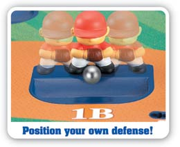 iplay Deluxe Stadium Baseball Game - position your own defence