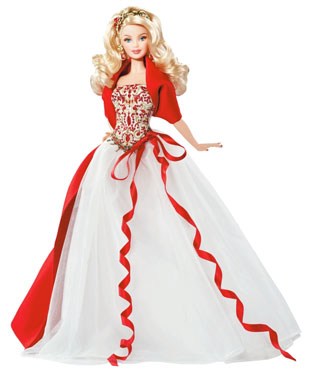 2010 Holiday Barbie