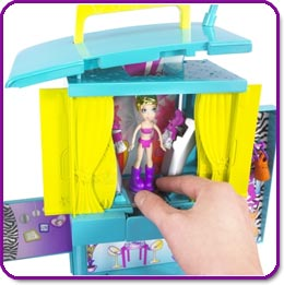 Polly Pocket Magic Fashion Stage