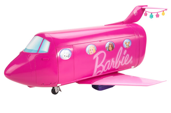 Amazon Com Barbie Glam Vacation Jet Toys Amp Games