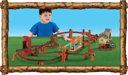 The Thomas and Friends Zip, Zoom and Logging Adventure