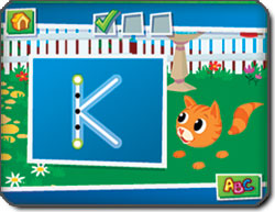 Leapster Explorer Learning Game System Screenshot