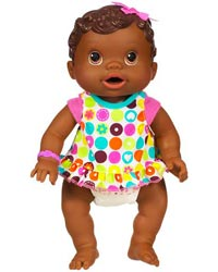 Changing Time Baby doll - African American