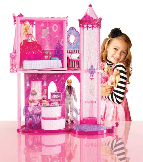 Barbie Fashion Fairytale Palace Toys Games