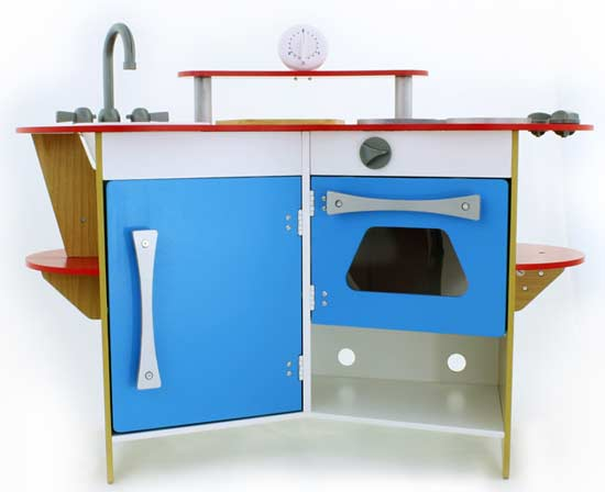 Amazon.com: Melissa & Doug Cook's Corner Wooden Kitchen: Toys & Games