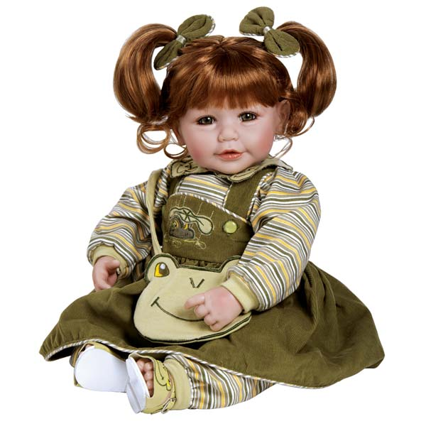 Amazon.com: Adora 20 inches Baby Doll Froggy Fun Red Hair/Green Eyes