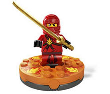 Ninjago Kai, the Master of Fire