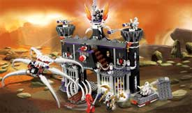2505 Garmadon's Dark Fortress