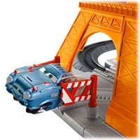 Fisher-Price Cars 2 Eiffel Tire Crash