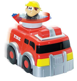Kid Galaxy Spin 'n' Go Fire Truck