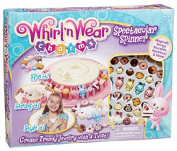 Whirl 'n Wear Charms Spectacular Spinner Product Shot