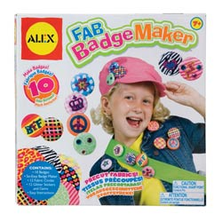 Alex Fab Badge Maker Product Shot