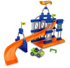 Fisher Price TRIO HOT WHEELS Super Stunt Builder