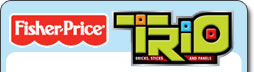 Fisher Price TRIO Logo