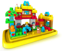 Mega Bloks Tub Town Large Farm
