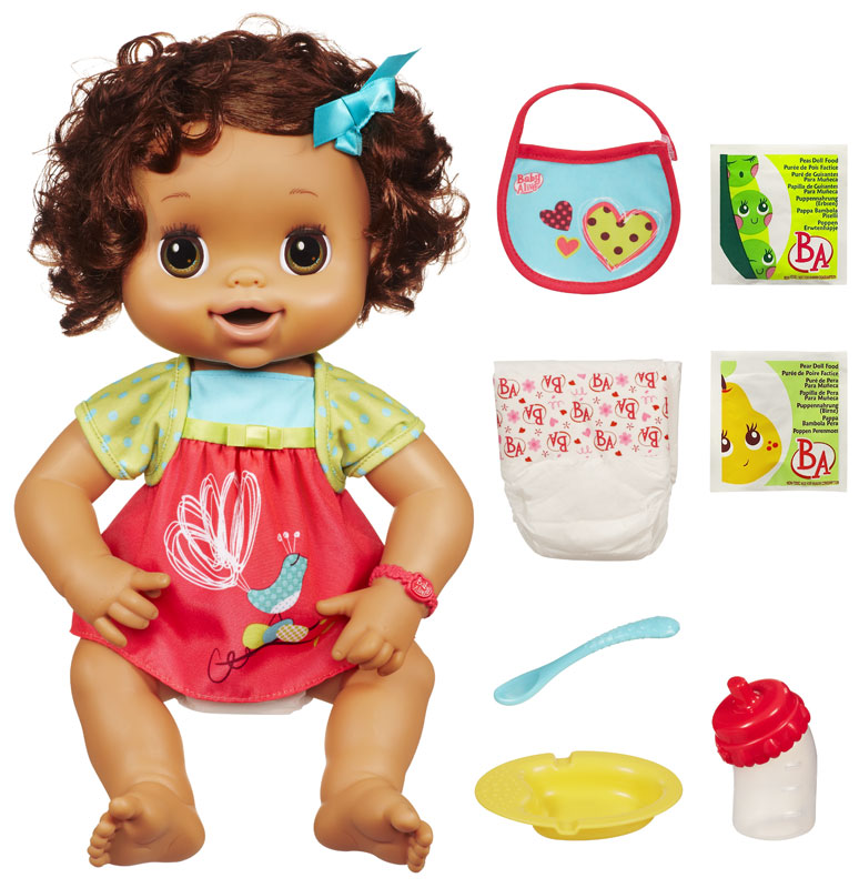 Amazon.com: Baby Alive My Baby Alive - Brunette: Toys & Games